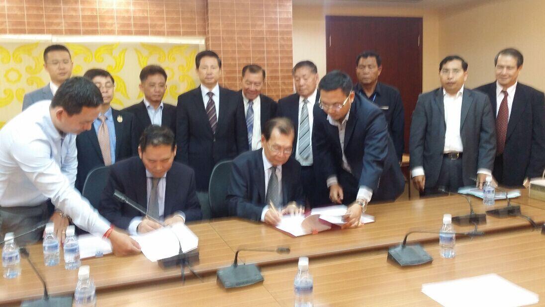 援柬首相府安全副楼项目签署设计合同