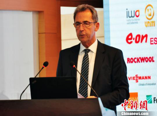 德国能源署长:将与河北共建中德建筑节能合作中心