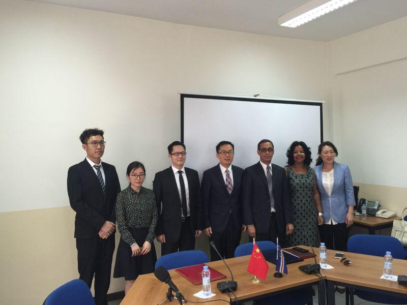 中佛签署中国援佛得角议会堂维修项目对外实施协议