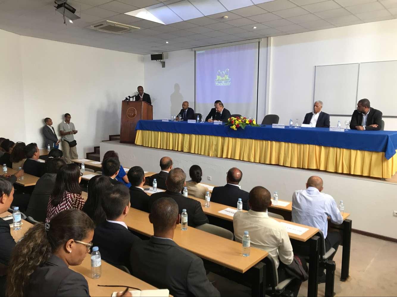 佛得角总理出席援佛圣文森特岛海洋经济特区规划项目宣介会并致辞