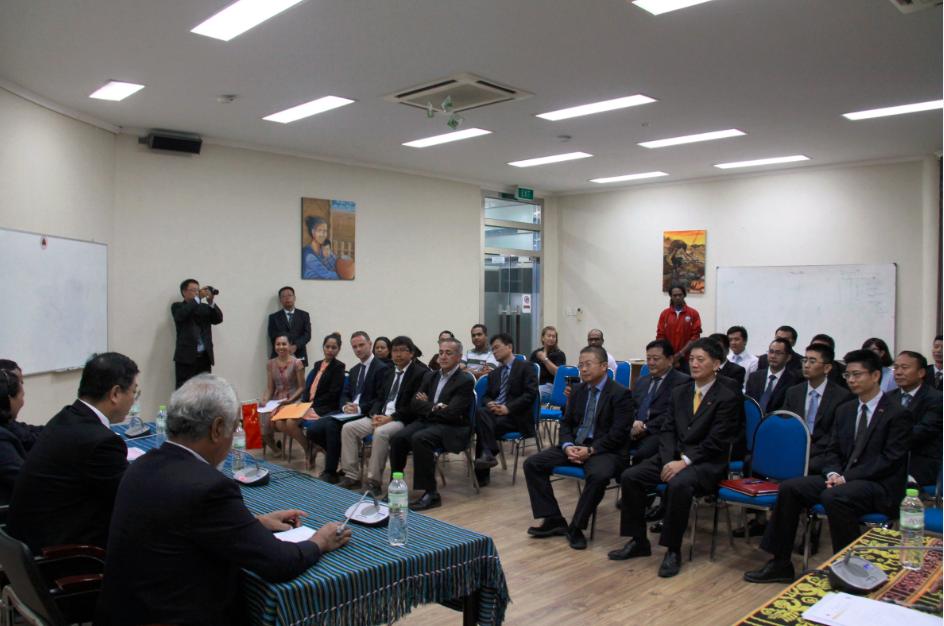 中国与东帝汶签署首个优买贷款协议