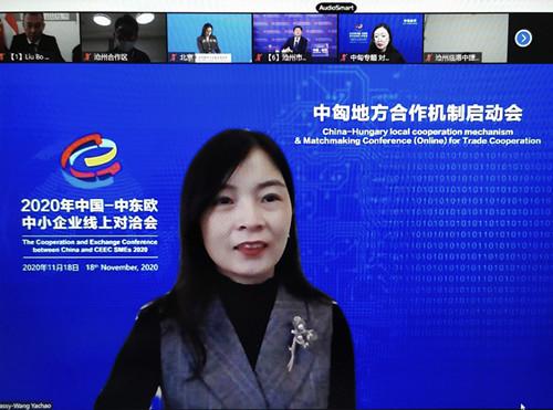 中國-匈牙利地方合作機制啟動儀式