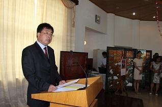 驻马达加斯加使馆经商处举行2016年新春招待会