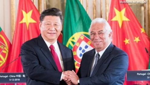 Си Цзиньпин встретился с премьер-министром Португалии А.Коштой