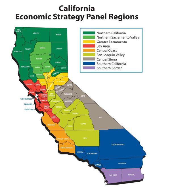加州金融危机后经济情况