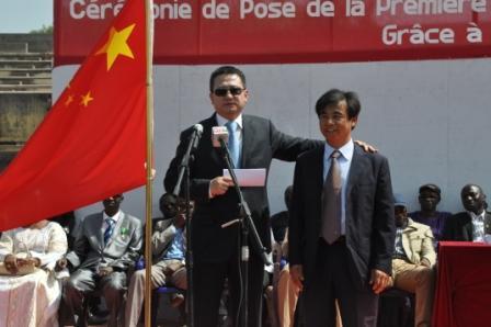 夏煌大使率驻塞内加尔中资企业人员考察济金绍尔并出席公共外交活动