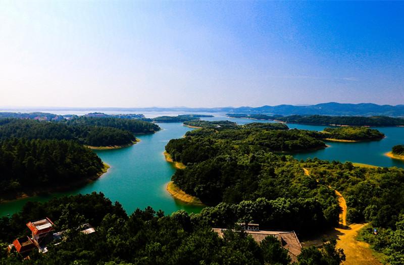 荆州松滋洈水风景区