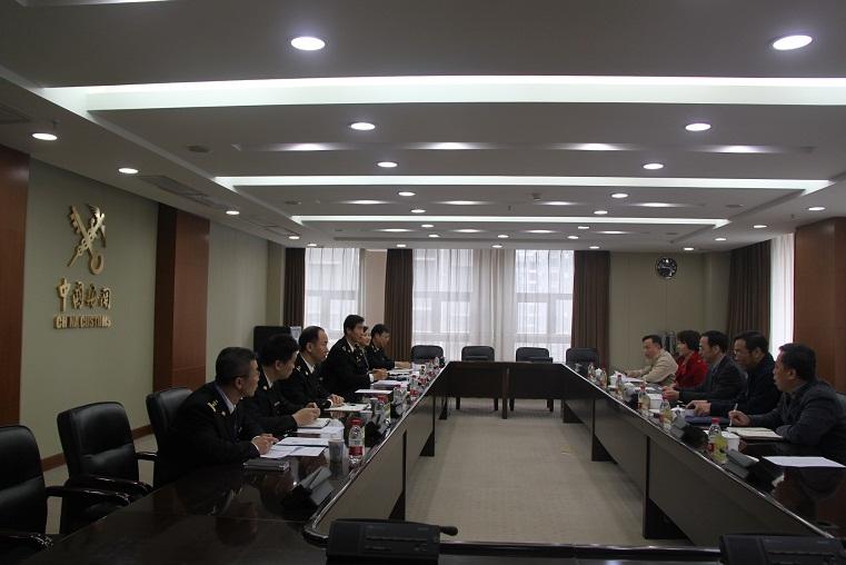 武雪峰副特派员赴武汉海关进行工作交流
