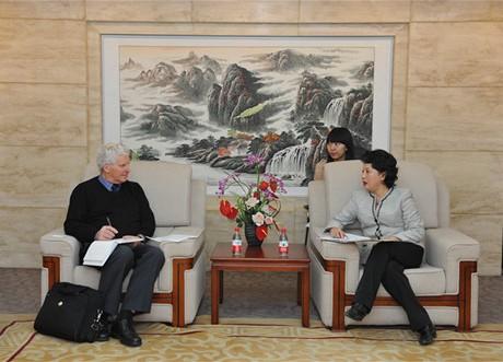 王禾副会长会见英国土木工程师学会中国区总裁一行