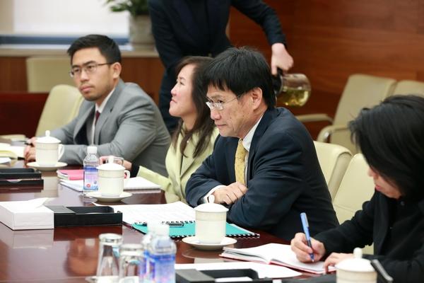 陈健副部长与文莱外交与贸易部常任秘书林玉辉共同出席中国-文莱经贸图片